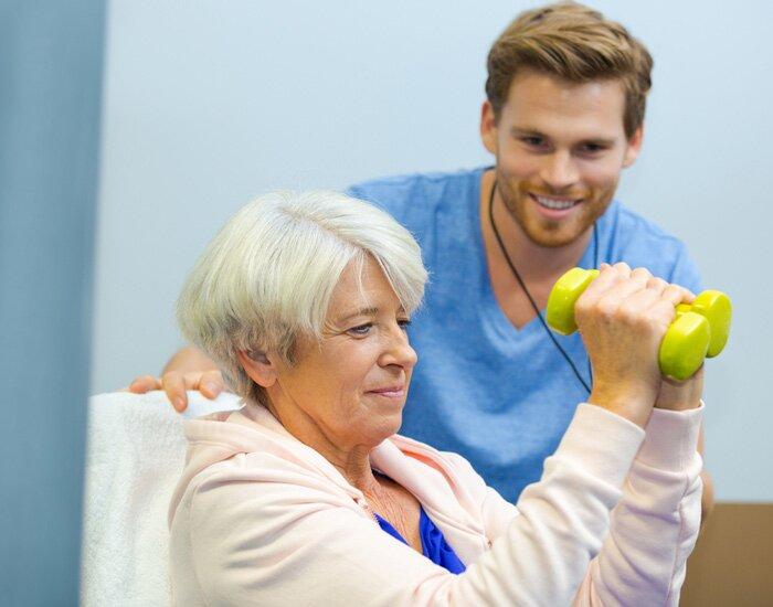 rééducation pour personnes âgées